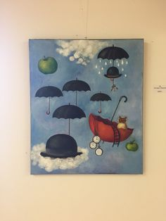 Magritte, Painting, Painting Art, Paintings, Painted Canvas, Drawings