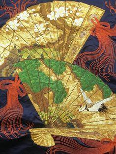 AQntique Embroidery Fukusa! http://www.ichiroya.com/item/list2/228287/