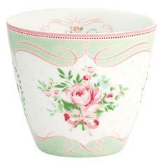 Tazón de leche Amelie White