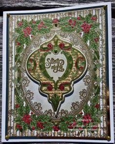 JustRite Beautiful Ornament Card