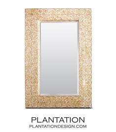 Trevor Capiz Mirror | Plantation.com