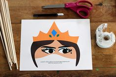 Purim Printables! aka masks from the story of Esther!