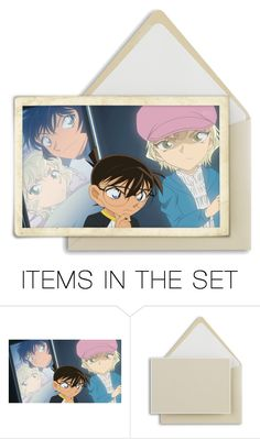 """""""Detective Conan"""" by smile2528 ❤ liked on Polyvore featuring art"""