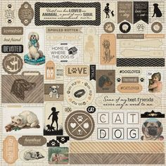 Paper Crafts > Collection Kits > Dogs > Devoted Collection Kit - Authentique: A Cherry On Top