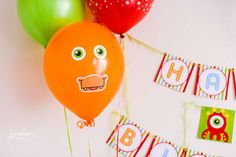 Monster Birthday Party Ideas | Adorable Monster Balloons