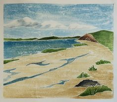 woodblock dreams: Work from the June 2015 White Line Workshop