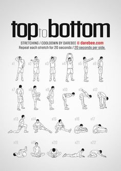 Yoga Fitness Flat Belly Top to Bottom Workout - Cool Down - There are many alternatives to get a flat stomach and among them are various yoga poses. Fitness Workouts, Yoga Fitness, Gym Workout Tips, Ab Workout At Home, At Home Workouts, Fitness Motivation, Workout Plans, Agility Workouts, Mma Workout