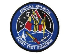 Air Force Black Ops Flight Test Squadron Special Projects Area 51 Aviation Patch
