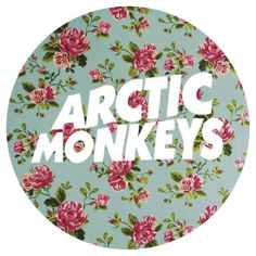 Arctic Monkeys floral logo Arctic Monkeys, Pink Music, Monkey 3, My Christmas Wish List, Florence The Machines, Floral Logo, Alice In Chains, Daft Punk, Band Logos