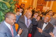 Sugar Ray Leonard, Referee Richard Steele, and the Marvelous Marvin Hagler at the Nevada Boxing Hall of Fame 2015 Gifting Gala