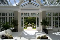 Designers and manufacturers of bespoke hardwood conservatories, orangeries, greenhoues and garden rooms Garden Room, House Design, Woodland House, Glass House, New Homes, Backyard Landscaping Designs, My House, Mansions Luxury, Orangery