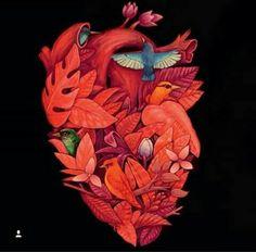 Dark Art Drawings, Anatomical Heart, Heart Images, Human Heart, Anatomy Art, Wire Art, Heart Art, Flower Art, Amazing Art