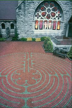 Mary Clark Wright Memorial Labyrinth - St. Johns Cathedral - Knoxville, TN