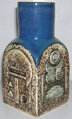 Spice Jar, Troika Pottery. Cerámica Ideas, St Ives, Spice Jars, Pottery Ideas, Wood And Metal, Cornwall, Ceramic Art, Teapot, Bowls