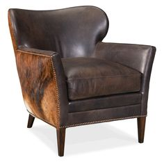 Shop a great selection of Hooker Furniture Kato Brown Leather Club Chair Dark Brindle. Find new offer and Similar products for Hooker Furniture Kato Brown Leather Club Chair Dark Brindle. Plywood Furniture, Hooker Furniture, Leather Club Chairs, Leather Lounge, Leather Sofas, Living Room Chairs, Living Room Furniture, Club Furniture, Kitchen Furniture
