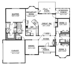 House Plan 449 6 houseplans Pinterest
