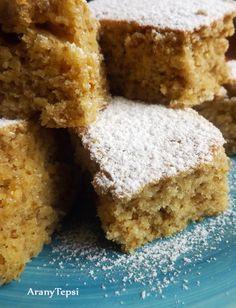 AranyTepsi: Egyszerű diós kevert Hungarian Desserts, Hungarian Recipes, Poppy Cake, Cake Recipes, Dessert Recipes, Cherry Cake, Sweet Cakes, Winter Food, No Bake Desserts