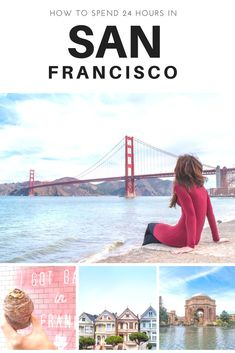 Only have a day to visit San Francisco? Make the most of your time by seeing these sights.