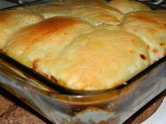 Pastel de berenjena, patata y carne. :http://recetasabc.com/2015/09/07/pastel-de-berenjena-patata-y-carne/