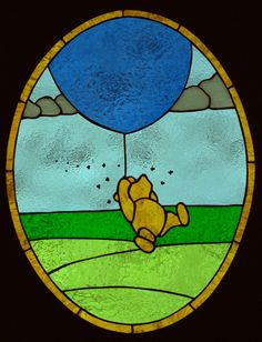 Pooh getting to the bee hive