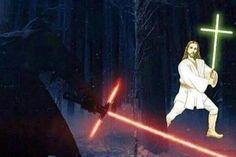 Jedi Jesus hahaha