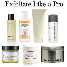 how to exfoliate like a pro | beauty bets