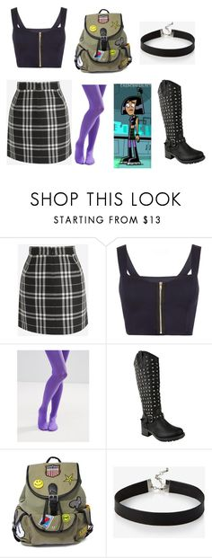 """Danny Phantom, Sam"" by jhmb on Polyvore featuring WearAll, ASOS, SAM., Like Dreams and Express"