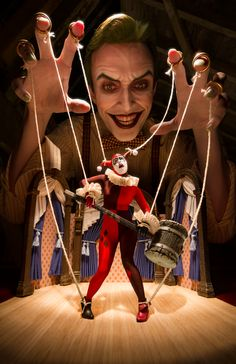 "Puppet Master by Anthony Misiano aka ""Harley's Joker"" Foto Fantasy, Fantasy Art, Anthony Misiano, Desenhos Halloween, Joker Und Harley Quinn, Dark Circus, Master Of Puppets, Pierrot, Arte Horror"