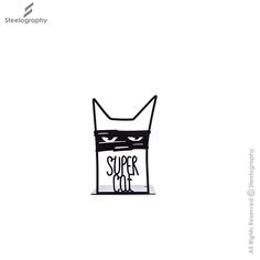 Super Cat Bookend   GBE066 – Steelography