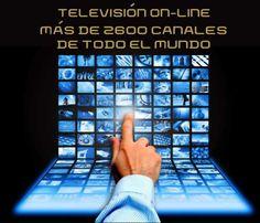 TVopedia. TV on-line con más de 2600 canales de todo el mundo #tvonline