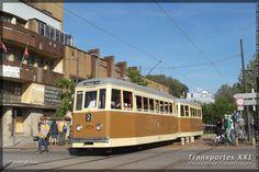 Transportes XXI • Portal - Em 1946, a Companhia Carris de Ferro do Porto é transformada no Serviço de Transportes Colectivos do Porto, e neste ano decide construir cerca de 30 novos carros eléctricos. Com design mais moderno e