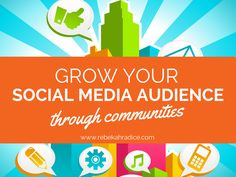 Are you eager to expand your online presence? Does building your social media audience feel overwhelming? Here's how to grow your social media audience through communities. Social Media Trends, Social Media Site, Social Networks, Social Media Digital Marketing, Social Marketing, New Social Network, Le Social, Business Marketing, Business Tips