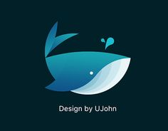 """Check out new work on my @Behance portfolio: """"简单设计 鲸鱼 Whale LOGO"""" http://be.net/gallery/35136355/-Whale-LOGO"""