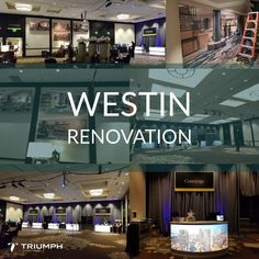 We are on pins and needles waiting to see the completed Westin Seattle Renovation! Honored to have been a part of the process! #renovation #eventprofs #venues
