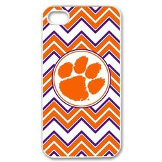 Clemson Tigers Iphone 4 4S Case NCAA Clemson University Tigers Orange Cool Tiger Paw Logo Cases Cover at abcabcbig store by abcabcbig, http://www.amazon.com/dp/B00D3IR1H6/ref=cm_sw_r_pi_dp_WiXWrb07886BF