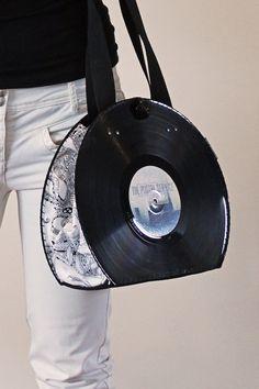 Vinyl Record Handbag / Purse / Bag / Retro / by PolyphonicPT, €50.00