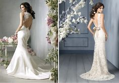 pretty lace gowns