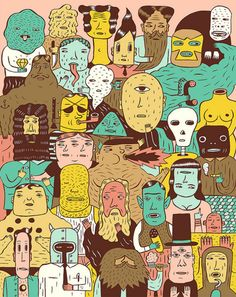 It's Nice That : Cheers to Till Hafenbrak for some truly captivating illustrations