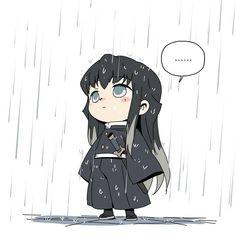 Demon Slayer( Kimetsu No Yaiba) Photo+memes - Hashira in rain - Wattpad Anime Chibi, Kawaii Anime, Manga Anime, Otaku Anime, Anime Art, Anime Angel, Anime Demon, Demon Slayer, Slayer Anime