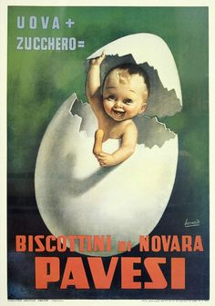 Poster pubblicitari con i bambini, Gino Boccasile - Children in advertisement posters