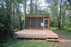 The Pamlico-Tar River Foundation opened the Dawson and Panola Camping Platforms today. (Contributed photo)