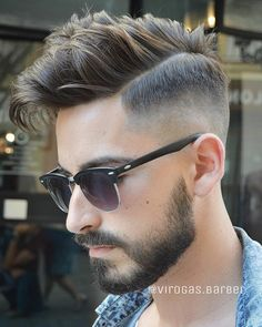 Comb over hairstyles have become very popular. We will show you the new Comb over hairstyles that men look good.Trendy Comb Over Hairstyles for Men check the ideas. Stylish Mens Haircuts, Mens Hairstyles With Beard, Hair And Beard Styles, Haircuts For Men, Cool Hairstyles, Medium Hairstyles, Men's Haircuts, Hairstyle Men, Modern Haircuts