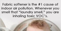 Fabric softener ads often portray an image of comfort, freshness and sweetness. Yet most fabric softeners contain a grim list of known toxins which can enter your body through the skin and by inhalation, causing a wide range of health problems, particularly for young children. Here are some of the...More