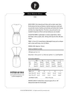 Pattern Runway - Sewing Patterns for the modern seamstress.: Patterns