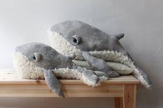 PRE-ORDER Small Grandpa Whale O Stuffed Animal 0 by BigStuffed