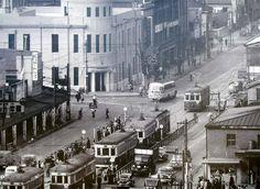1957年(昭和32年) 桜木町駅付近