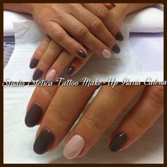 Taupe and perly rose