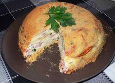 Картофена торта с шунка и пушено сирене | Рецепти – напишете рецепта