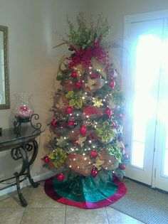 Tree in Church foyer