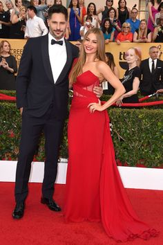 Sofia Vergara and Joe Manganiello 2015 SAG Awards